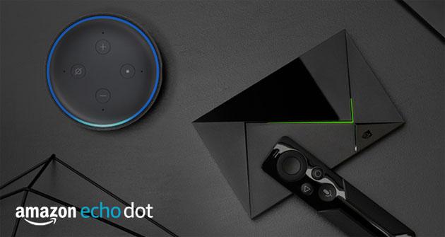 Nvidia Shield si controlla con Alexa