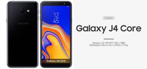 Galaxy J4 Core, secondo smartphone Android Go di Samsung