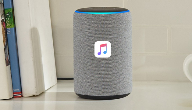 Foto Apple Music su Amazon Echo con Alexa