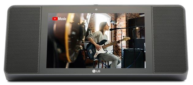 LG ThinQ WK9, altoparlante smart con display e Google Assistant