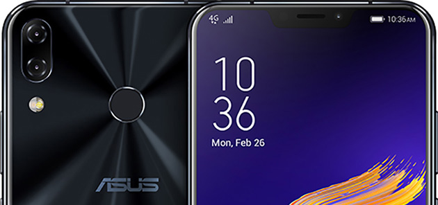 Foto Asus ZenFone 5, Android 9 Pie in distribuzione