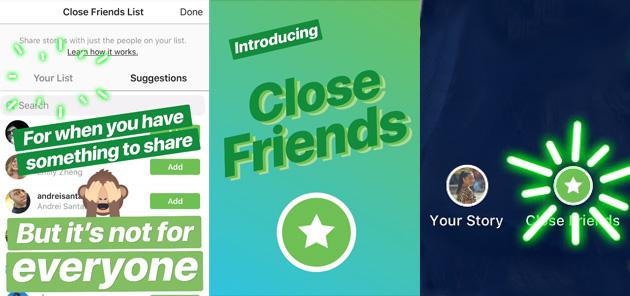 Instagram, come creare la lista personale di amici stretti con cui condividere storie