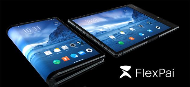 FlexPai, primo telefono pieghevole sul mercato mondiale