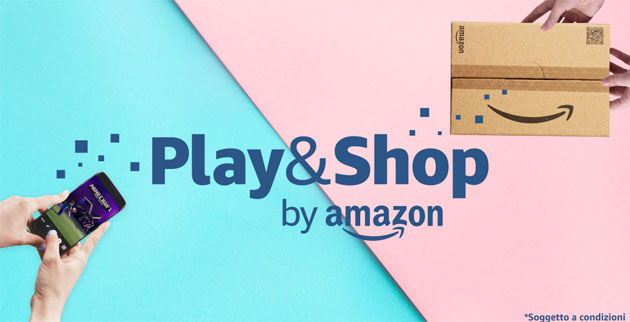 Foto Amazon Appstore Play and Shop per risparmiare facendo acqusiti divertendosi coi propri giochi preferiti