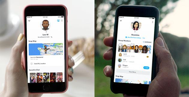 Snapchat lancia il Profilo Amicizia