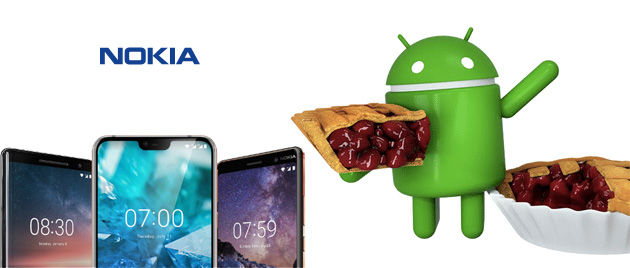 Foto Android 9 Pie su Nokia 5.1 disponibile