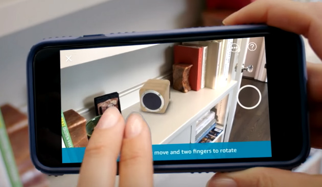 Foto Amazon Scout, AR View e 360 View rendono lo shopping veloce, facile e divertente