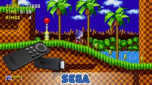 I giochi Sega Classic su Fire TV di Amazon