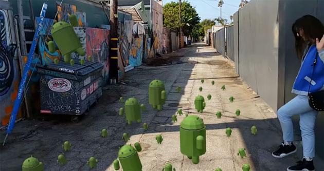 Google aggiorna ARCore e Sceneform per esperienze AR piu' realistiche su 250 milioni di dispositivi Android