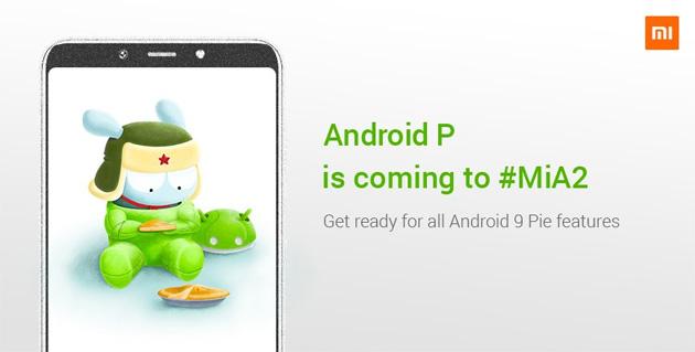 Xiaomi Mi A2 si aggiorna ad Android 9 Pie