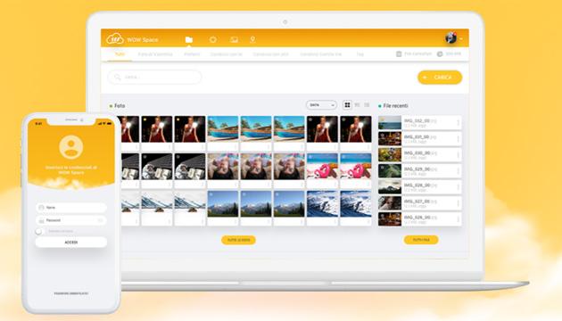 Fastweb WOW Space, servizio di cloud storage per clienti Fastweb