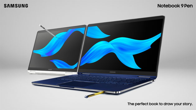Foto Samsung Notebook 9 Pen, PC 2-in-1 premium con S Pen e Intel Core di 8a generazione