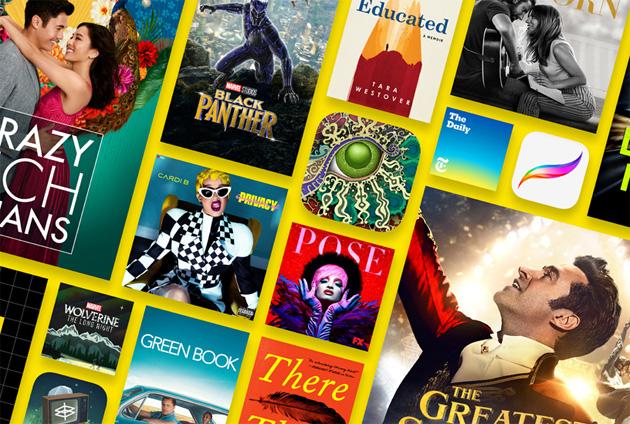 Apple riassume il 2018 su iTunes: App, Musica, Film e Libri piu' popolari