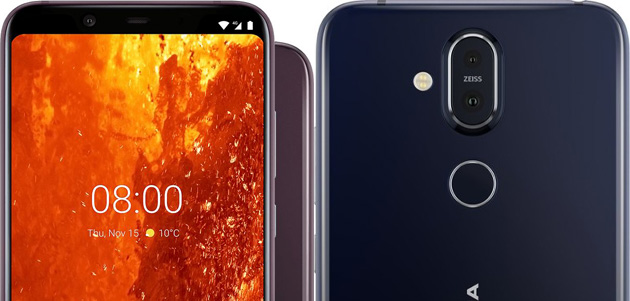 Foto Nokia 8.1 (X7) ufficiale con PureDisplay HDR, notch, dual camera e Snapdragon 710