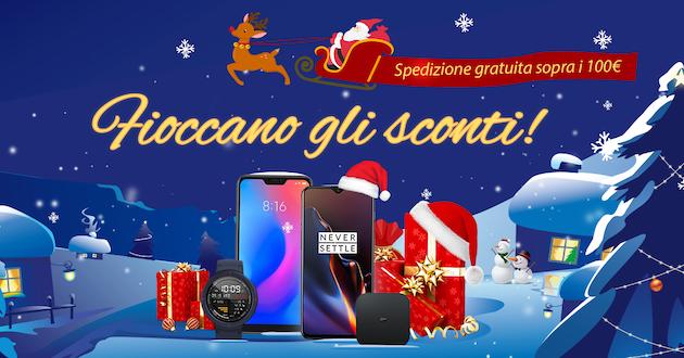 Geekmall apre agli sconti di Natale, tantissimi prodotti gratis o a prezzo ridotto