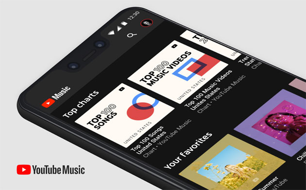 Foto Youtube Music offre le classifiche musicali di Youtube come playlist