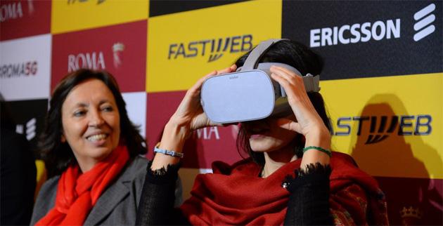 Fastweb ed Ericsson applicano il 5G alle Terme di Diocleziano