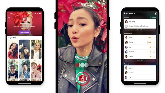 Snapchat Lens Challenges, divertenti sfide virali per coinvolgere gli utenti