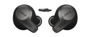 Jabra Evolve 65t, auricolari true-wireless con audio in alta qualita' e certificati Skype for Business