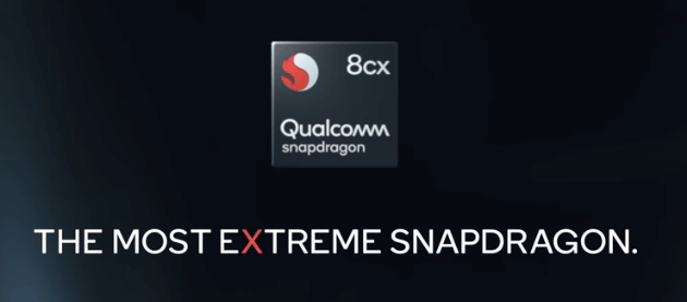 Foto Qualcomm Snapdragon 8cx, primo chip per PC a 7 nanometri