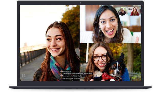 Skype offre trascrizioni dal vivo, presto con traduzione automatica