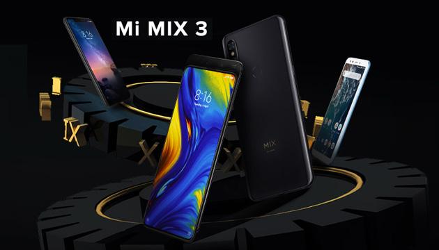 Xiaomi Mi Mix 3 in Italia con le sue 4 fotocamere, anche a scomparsa, e fino a 10GB di RAM