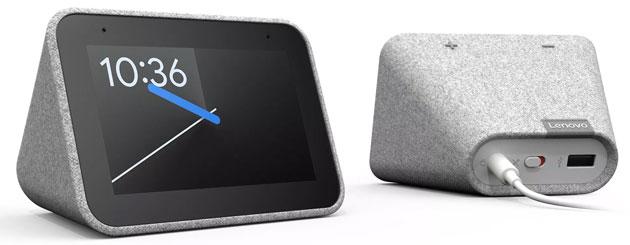 Lenovo Smart Clock, display intelligente da comodino con Google Assistente