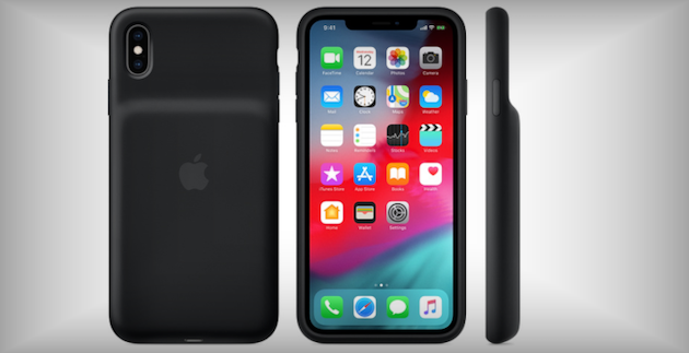Foto Ufficiale Apple Smart Battery Case, cover con batteria per iPhone XS, XS Max ed XR da 149 euro