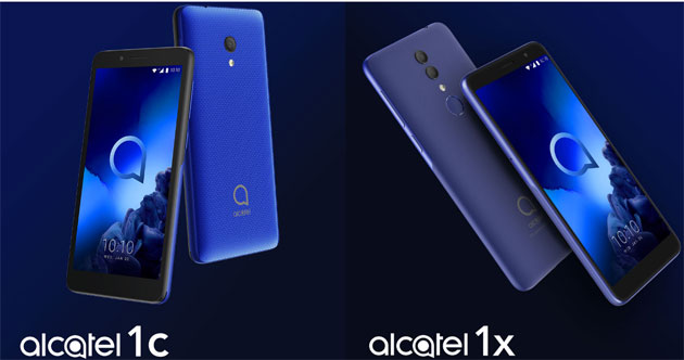 Foto Alcatel 1X (2019) con Full View Display in Italia