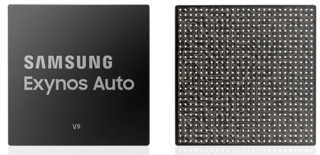 Samsung Exynos Auto V9 nel sistema di infotainment per auto di Audi