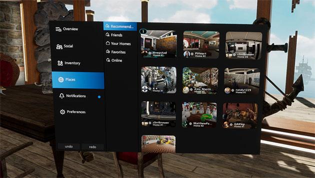 Oculus su Rift introduce Livestream su Facebook e Giocatore ospite con Public Homes