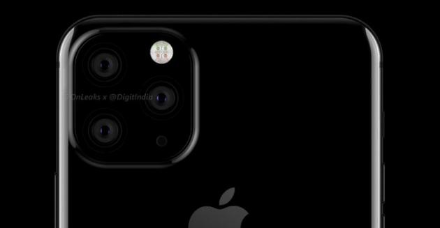 Apple iPhone con tre fotocamere sul retro atteso nel 2019