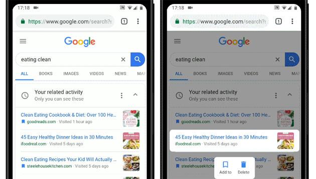 Google fa riprendere le ricerche da dove interrotte