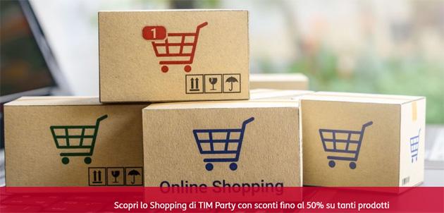 TIM Party sconta prodotti fino al 50 per cento: ecco quali