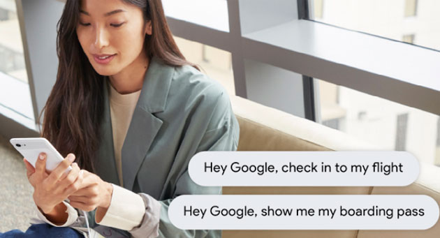 Foto Google Assistente serve da Interprete, prenota Hotel e fa il Check-in di voli