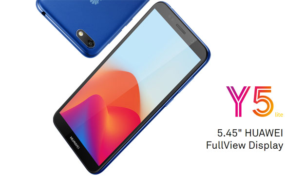 Huawei Y5 Lite con Android Oreo Go Edition ufficiale