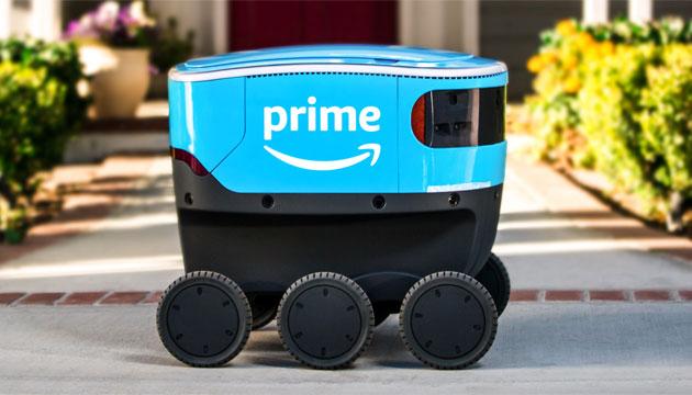 Amazon Scout, in test il nuovo sistema di consegna autonomo