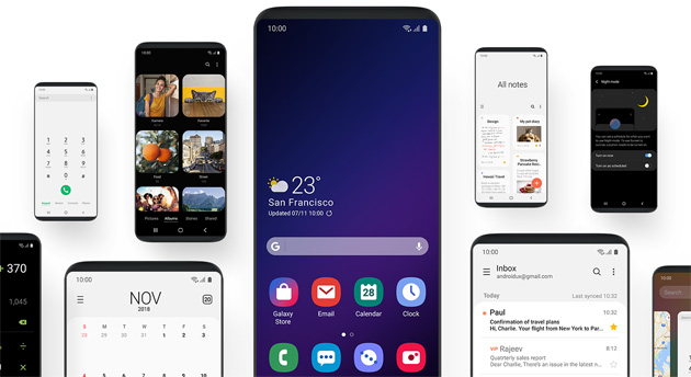 Samsung, da Galaxy UX a One UI: come e' cambiata l'interfaccia utente dei dispositivi Samsung Galaxy