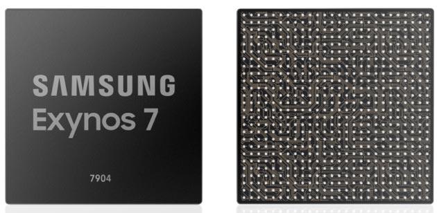 Samsung lancia Exynos 7 Series 7904 con supporto per tripla camera