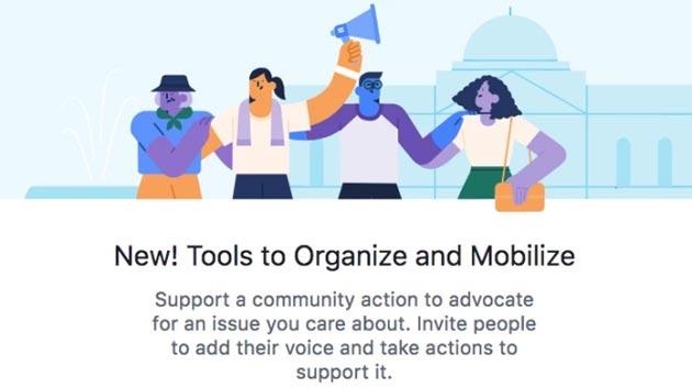 Facebook lancia strumento di petizioni online