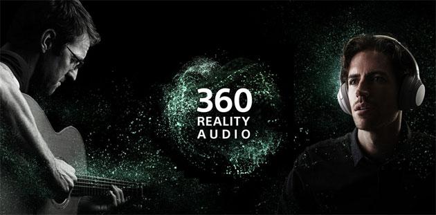 Sony 360 Reality Audio, esperienza musicale in cui il suono avvolge l'ascoltatore