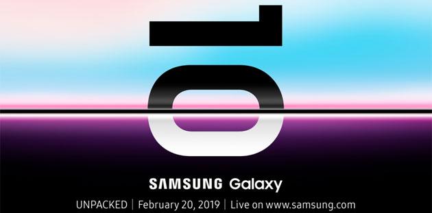 Samsung Galaxy Unpacked 2019, 20 febbraio: cosa aspettarsi e come seguire la diretta streaming