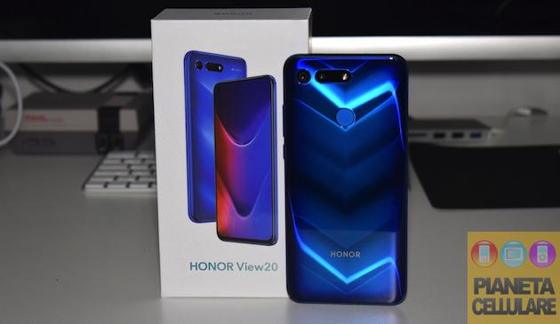 Recensione Honor View 20, fotocamera dentro al display e 48 megapixel