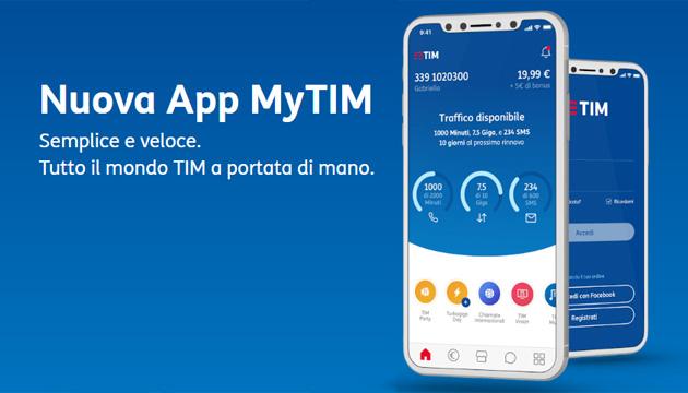 MyTIM, nuova app unica per gestire le proprie linee TIM fisso e mobile