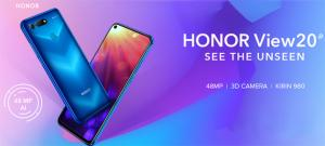 Honor View20 in Vendita Flash con auricolari wireless abbinati solo oggi per 3 ore