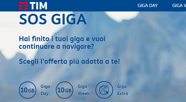 TIM, SOS Giga finiti? Ricarica lo Smartphone con Giga Extra e Opzioni Internet Aggiuntive