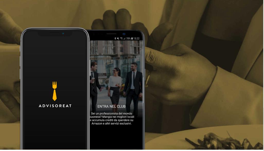 AdvisorEat: App che ti premia mentre mangi