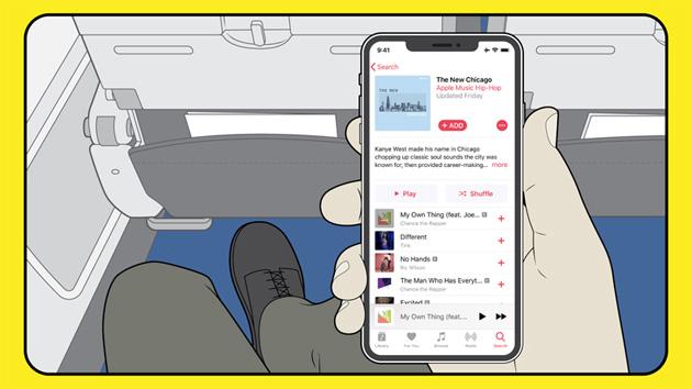 Apple Music prende il volo