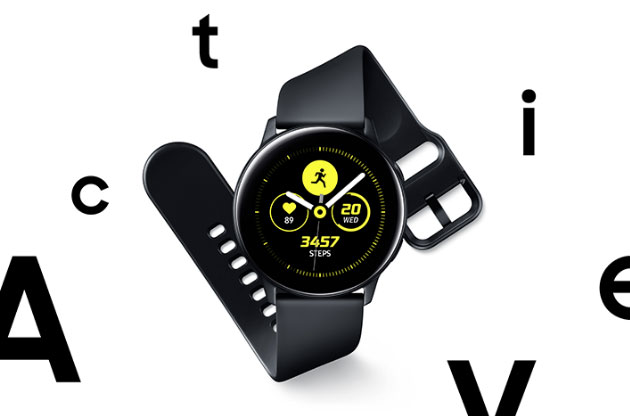 Foto Samsung Galaxy Watch Active ufficiale