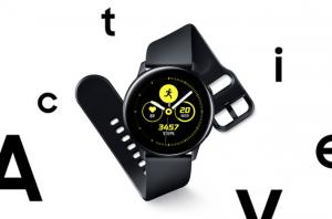 Samsung Galaxy Watch Active ufficiale